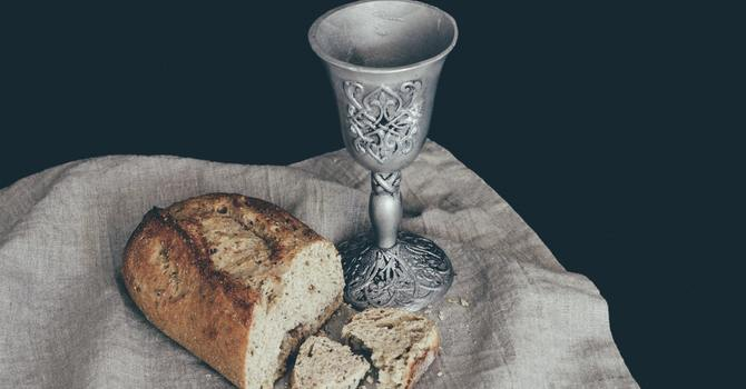 Here's how Holy Communion began image