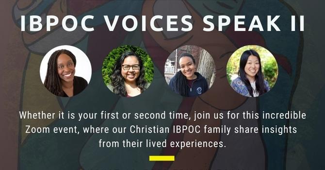 Racism & the Church: IBPOC Voices Speak, Part II image