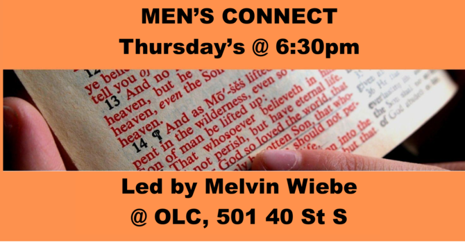 Men's Connect Thursday