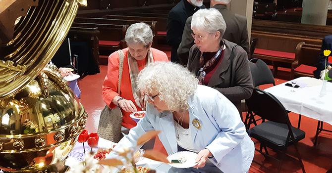 Retired clergy tea changes venues image