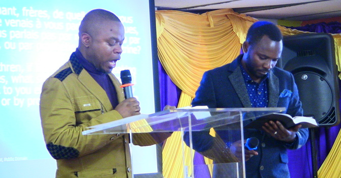 Karama ya kutoa unabii -  Pastor Faustin interp by Bro Tony Nkunzi