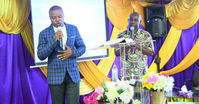 Karama za roho mtakatifu - Pastor Faustin interpreted by Bro Martin Bongwa Part 1