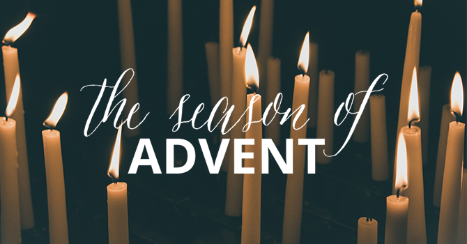 Advent invites reflection image