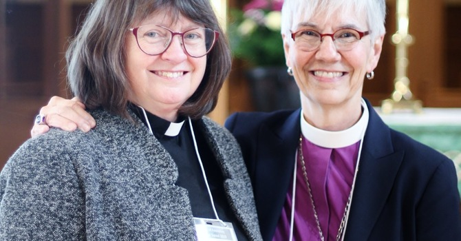 Lynne made bishop-elect in the Kootenays image