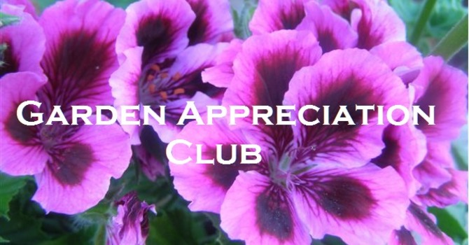 Garden Appreciation Club