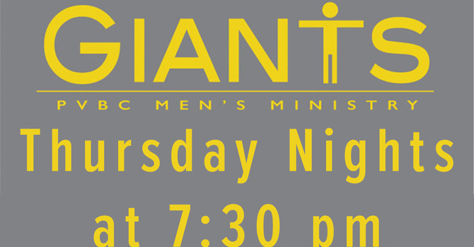 GIANTS Men's Group