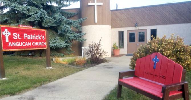 St. Patrick's Blesses Community Bench image