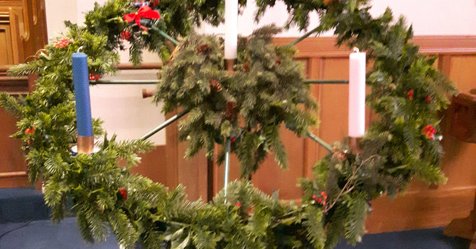 The Story Behind:  Knox Advent Wreath image