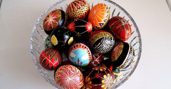 The Custom of Giving Easter Eggs image