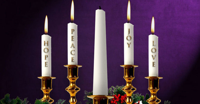 Advent IV~We Light Mary's Candle