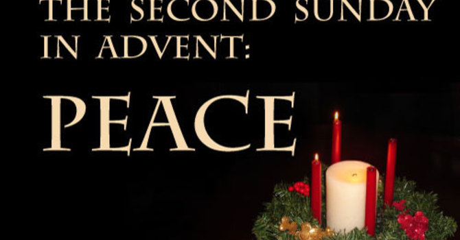 Advent  II - We light the candle of PEACE