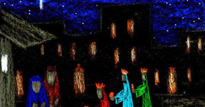 Christmas Eve Pagenant Reflection image