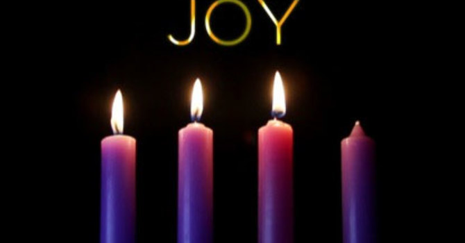 Advent III - We light the candle of JOY