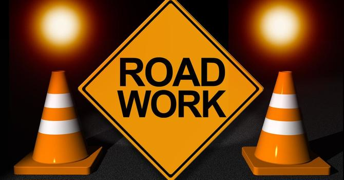 Road Work on Oceola Road image