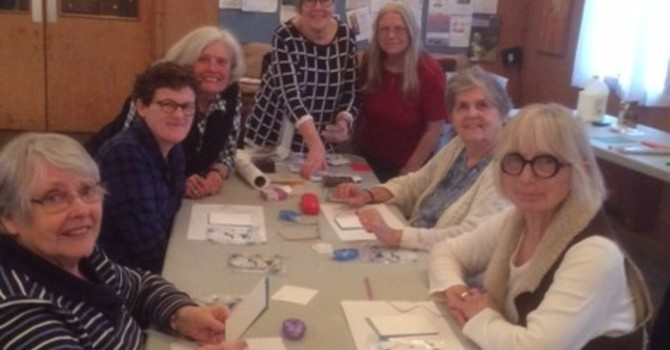 Cardmaking Class was a great sucess! Time and Talent Project! image