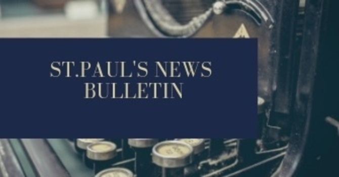 St. Paul's March 3rd News Bulletin image