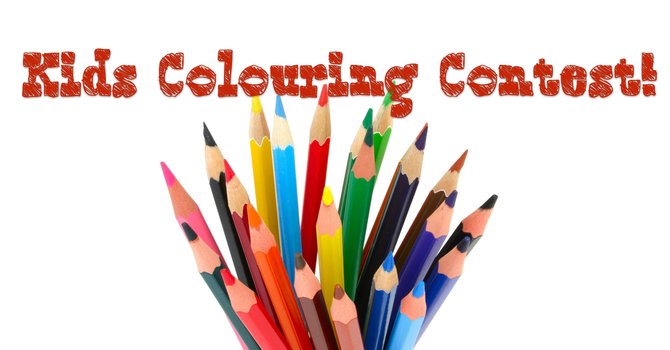 Kids Colouring Contest! image