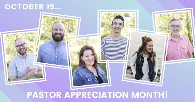 Pastor Appreciation Month image