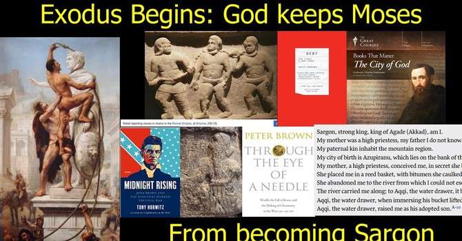 How God Keeps Moses from Becoming Sargon