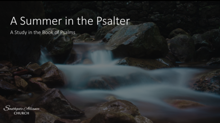 A Summer in the Psalter