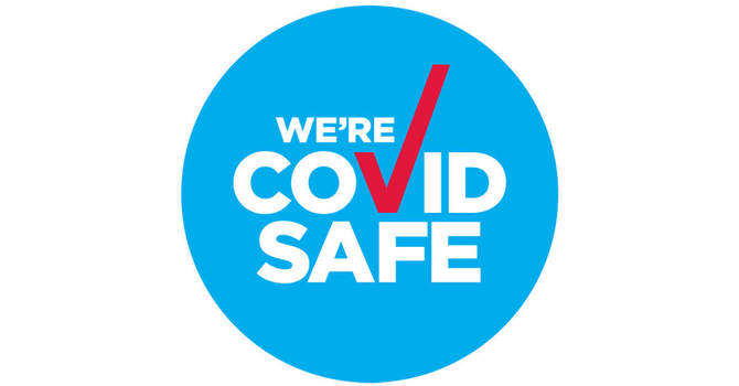 We're COVIDsafe image
