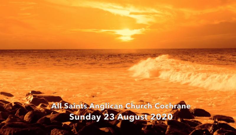 Eucharist Service August 23