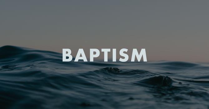 Baptism Stories image