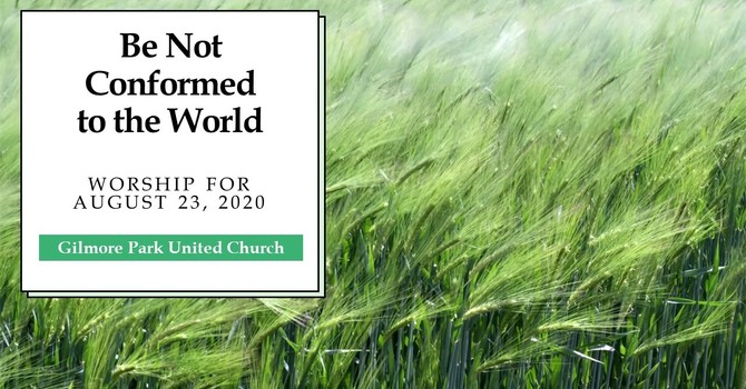 Be Not Conformed to the World image