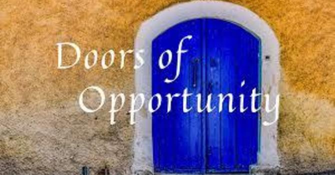 Doors of Opportunity
