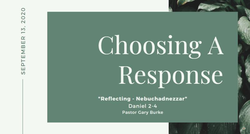 Reflecting - Nebuchadnezzar