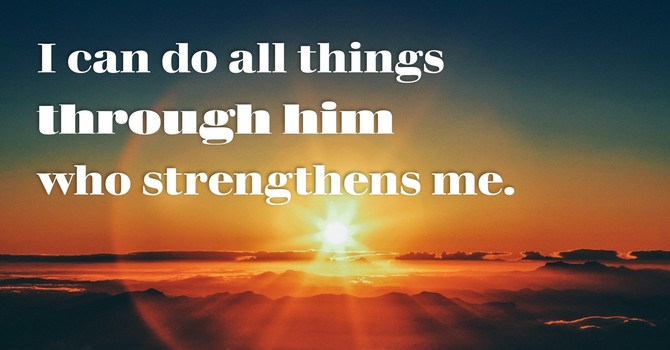 Through Him