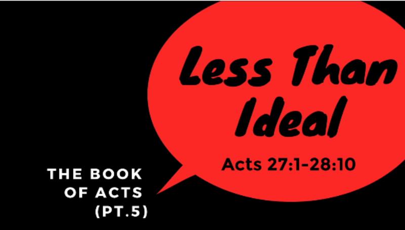 Less Than Ideal