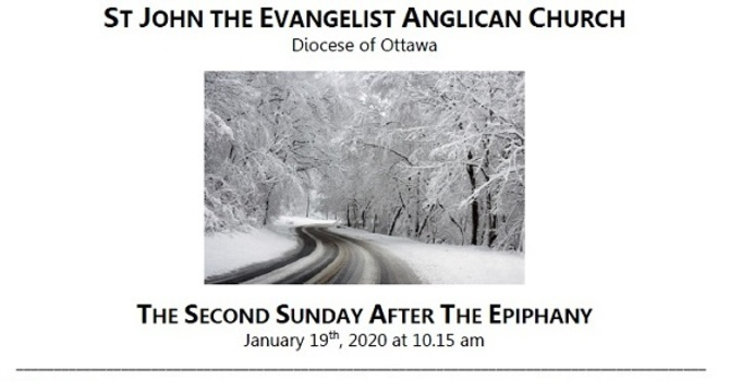 The Second Sunday after the Epiphany