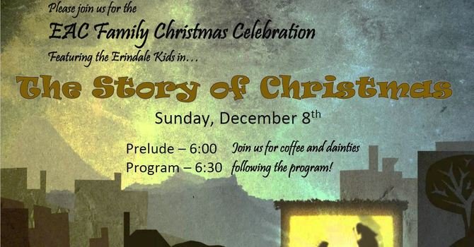 Save the Date - The Erindale Family Christmas image