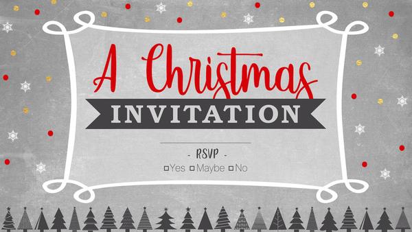 A Christmas Invitation