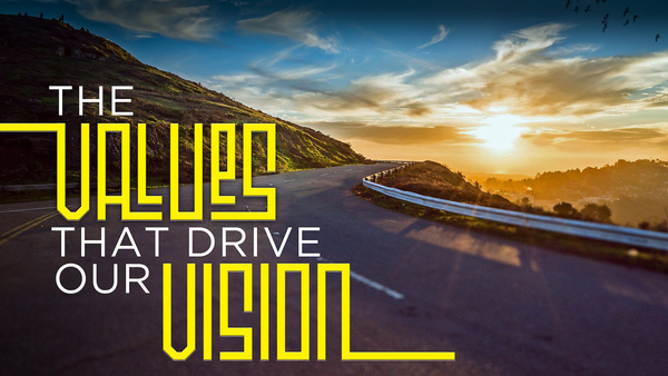 THE VALUES THAT DRIVE OUR VISION