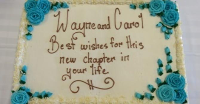 Farewell to Wayne and Carol image