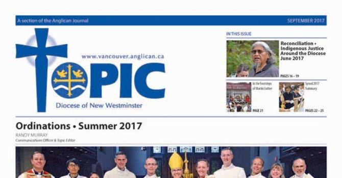 September 2017 Topic