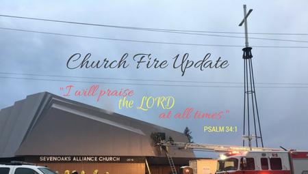 Church Fire Update