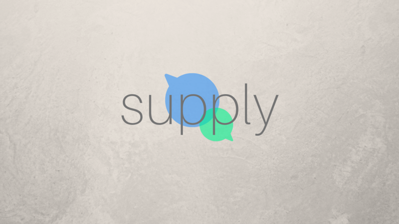 Prayer: Supply