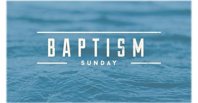 Baptism Sunday Service
