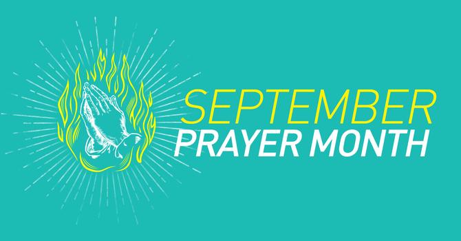 September Prayer image