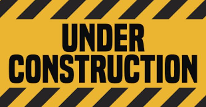 Under Construction Week #7 (Schedule)