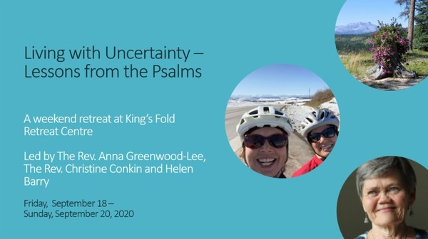 Living with Uncertainty: Lessons from the Psalms
