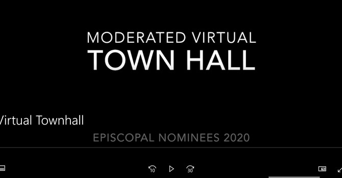 Virtual TOWN HALL image