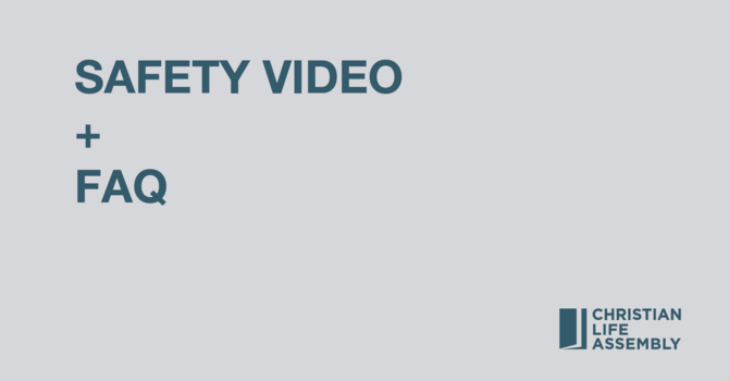 Safety Video and FAQ image