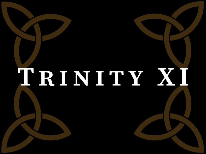 Trinity XI 2020, 10:00 A.M.