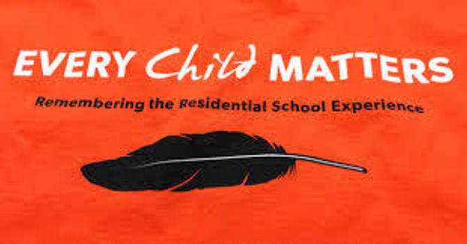 Every Child Matters:  Orange Shirt Day image
