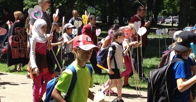 A Reconciliation Walk