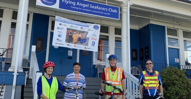 Chaplains Cycle for Seafarers image